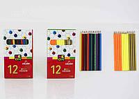 Карандаши для детей цветные 12 шт