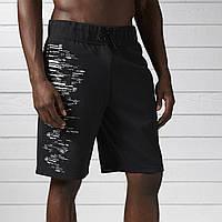 Мужские спортивные шорты Reebok Workout Ready Cotton Series BK4729 - 2017