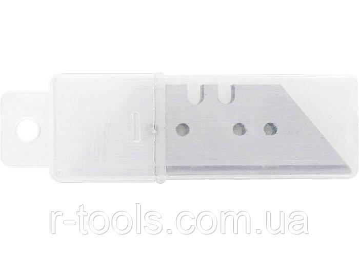 Лезвия,18 мм,трапециевидные, прямые, 5 штук SPARTA 78976