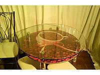 Обеденный круглый стол кофе