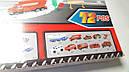 Набор пожарная станция Авто-трек с машинками металл, фото 6