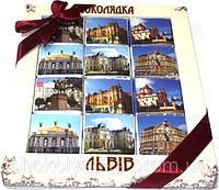 """Набор мини шоколадок """"Львов"""""""