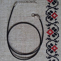 Шнурок Натільний, Шкіра, натуральна, 50 см.