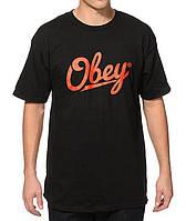 Футболка Obey logo four