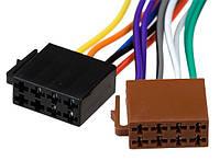 Разъём автомагнитолы ISO (гнездо) 2шт, с кабелем