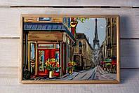 Поднос на подушке Париж улица