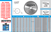 Диск отрезной,  GRAPHITE  57H648 - 57H686