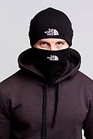 Комплект The North Face шапка и бафф реплика