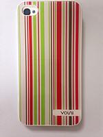 Чехол-крышка Vouni Mirror для iPhone 4/4s red green gray