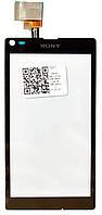 Сенсор (тач скрин) SONY Xperia L C2104 S36, C2105 S36h black (оригинал)