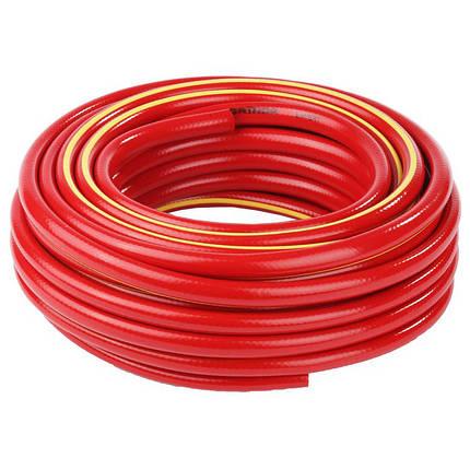 """Шланг для воды 3-х слойный 3/4"""", 100м, армированный WAZ (красный), фото 2"""
