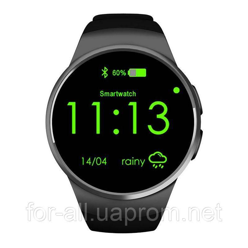 Умные часы смарт вотч KW18 black  продажа a360d87ebf7cc