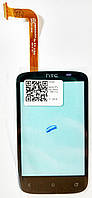 Сенсор (тач скрин) HTC Desire C A320 black (оригинал)