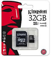 Карта пам'яті Kingston MicroSDHC 32 ГБ (SDC10G2/32GB)