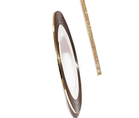 Самоклеящаяся лента для дизайна ногтей BZH-02C-04  (0.8 мм) Цвет: Light Gold