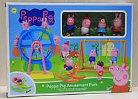 Парк развлечений для Свинки Пеппа, игровой набор для детей