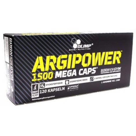 Аргинин в капсулах Argi Power Mega Caps Olimp Labs 120 капс