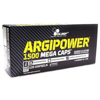 Аргинин в капсулах Argi Power Mega Caps Olimp Labs 120 капс, фото 2