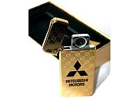 """Электроимпульсная зажигалка USB """"MITSUBISHI"""" hd, фото 1"""