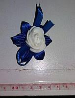 Свадебный цветок для гостей № 5 синие)
