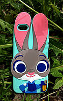 Силиконовый чехол Джуди Хоппс iPhone 6S Plus/6 Plus, ментоловый
