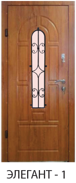 """Входная дверь для улицы  """"Портала"""" (серии элегант new ) Элегант-1"""