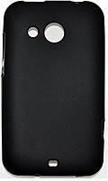 Cиликоновый чехол HTC Desire 200 черный