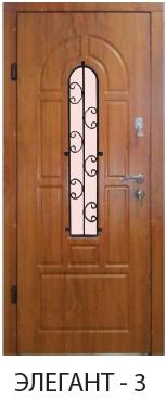 """Входная дверь для улицы  """"Портала"""" (серии элегант new ) Элегант-3"""