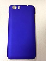 Чехол-крышка пластик Lenovo A828 синий