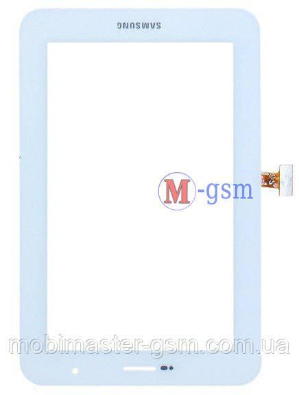 Тачскрин (сенсорный экран) Samsung Galaxy Tab 7.0 Plus P6200 белый