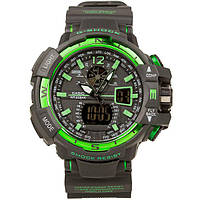 Часы Casio G-Shock GW-A1100 Black Green
