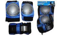 Защита спортивная наколенники, налокотники, перчатки KEPAI LP-302 (р-р S, M, L, розовая,черная,синяя)