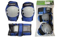 Защита спортивная наколенники, налокотники, перчатки KEPAI LP-372 (р-р M, синяя)