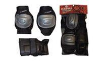 Защита спортивная наколенники, налокотники, перчатки KEPAI LP-610 (р-р S, M, L)