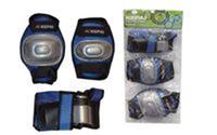 Защита спортивная наколенники, налокотники, перчатки KEPAI LP-620 (р-р S, M, L, черная, синяя, розовая)