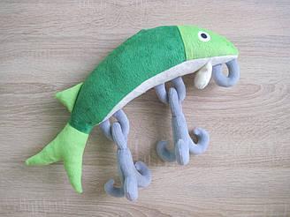 Мягкая игрушка рыба воблер ручная работа