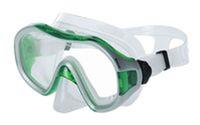 Маска для плавания ZEL ZP-265TSS (термостекло, силикон, пластик, желтая, зеленая, синяя, красная)
