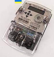 Электросчетчик ЛЕБ-Д1.Б4-R6 220В 5(60)А 1,0  многотарифный, индикаторы Р,М, имп. выход, PLC, RS-485 (Украина)