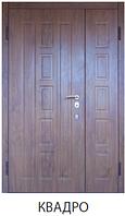 """Входная полуторная дверь для улицы """"Портала"""" (Комфорт Vinorit) модель Квадро"""