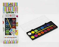 Краски для рисования 16 цветов