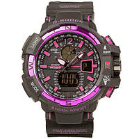 Часы спортивные Casio G-Shock GW-A1100 Black Purple