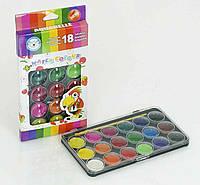 Набор красок для рисования 18 цветов