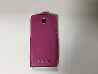 Книжка Lenovo A1900 A2800 розовая
