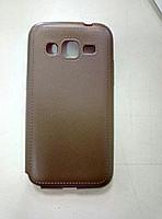 Cиликоновый чехол Fluted Samsung G360 G361 коричневый