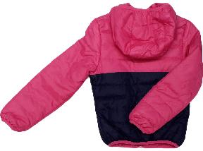 Куртка ветровка демисезонная с капюшоном ТМ Grace для девочки розовая размер 116, фото 3