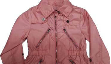 Куртка ветровка демисезонная Verscon для девочки розовая размер 92, фото 3