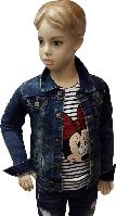 Куртка джинсовая детская MG&T размер 104 110 116 122 128 134 140
