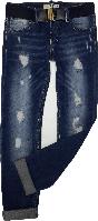 Джинсы на девочку демисезонные Bebizia размер 128 134