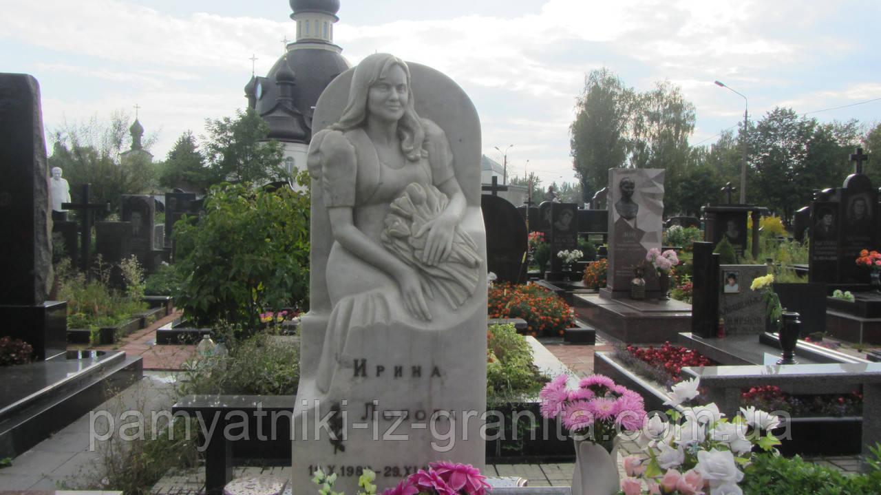 Скульптура женщины из мрамора № 11