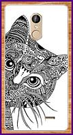Чехол на телефон Leagoo M5 с рисунком котика
